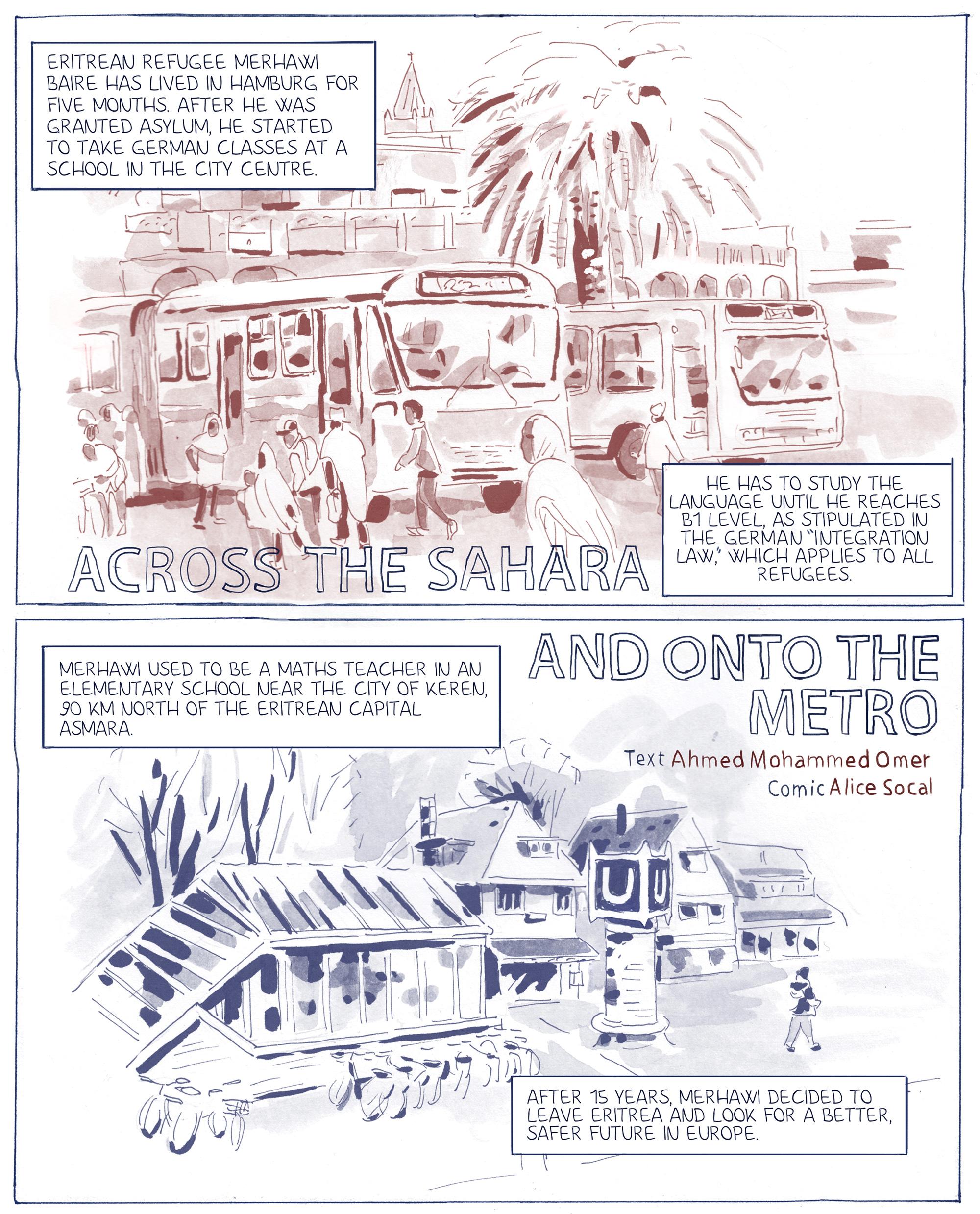 Von der Sahara in die U-Bahn
